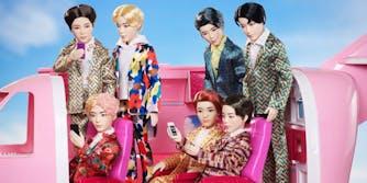 Mattel BTS dolls preorder