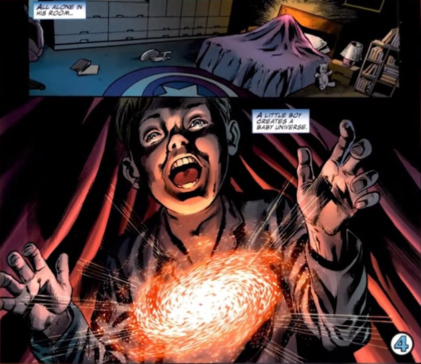 Most powerful Marvel heroes - Franklin Richards