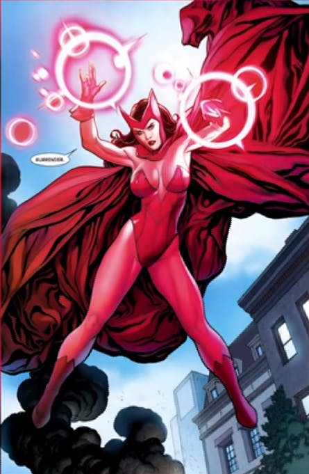 Most powerful Marvel heroes - Scarlet Witch
