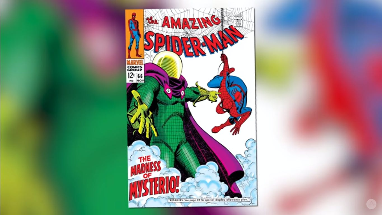 Spider-Man FFH - Mysterio comics