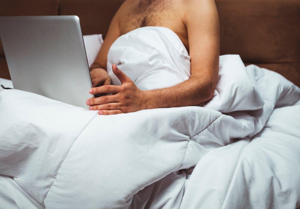 Watching Pornhub