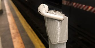 airpod broom duct tape