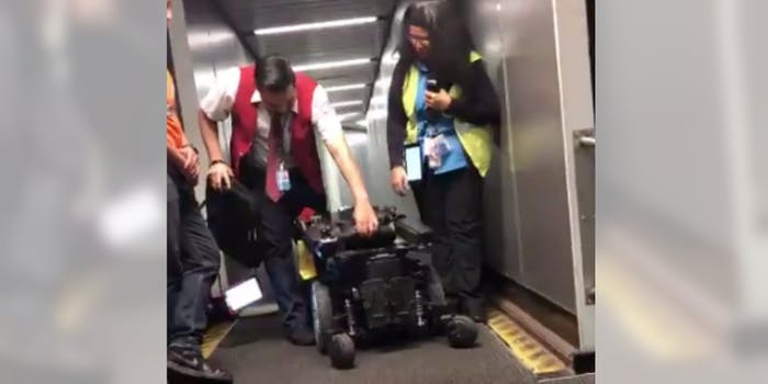 airport-staff-break-womans-wheelchair