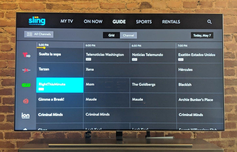 airtv sling tv review