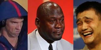 Angry Phelps, Crying Jordan, Yao Ming