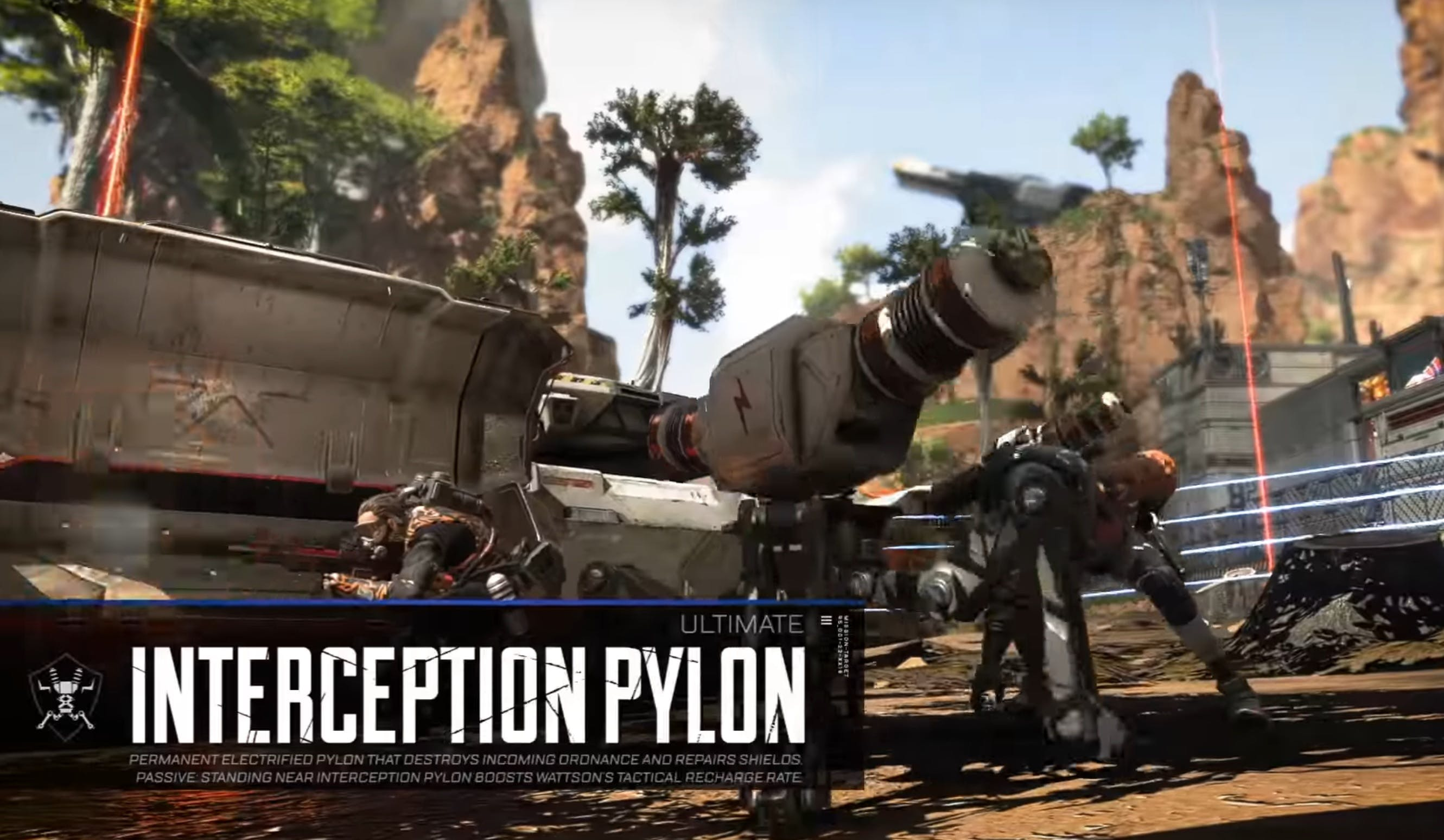 apex legends wattson abilities interception pylon