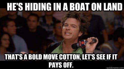 bold move cotton boat