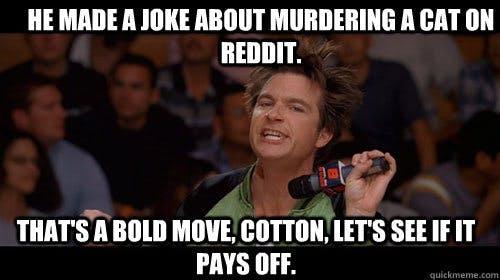 bold move cotton cat