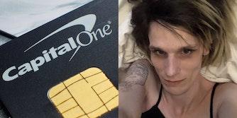 capital one credit card hack paige adele thompson