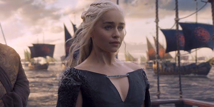 daenerys sails to westeros