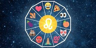 emoji horoscope leo