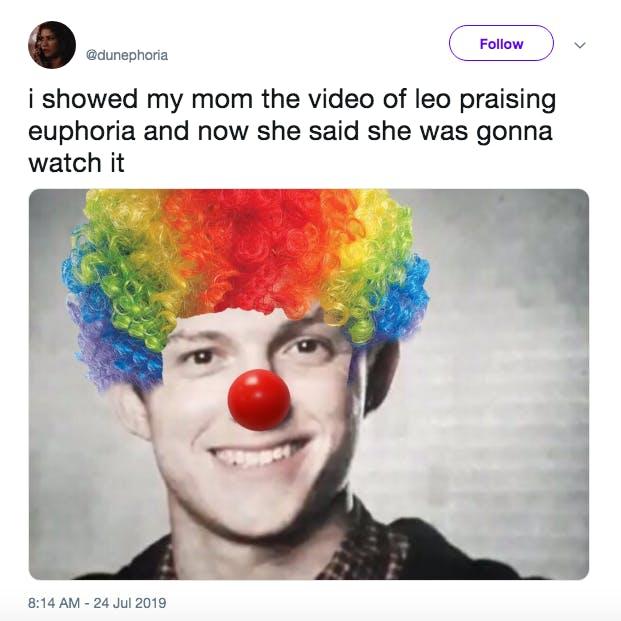 leonardo dicaprio euphoria