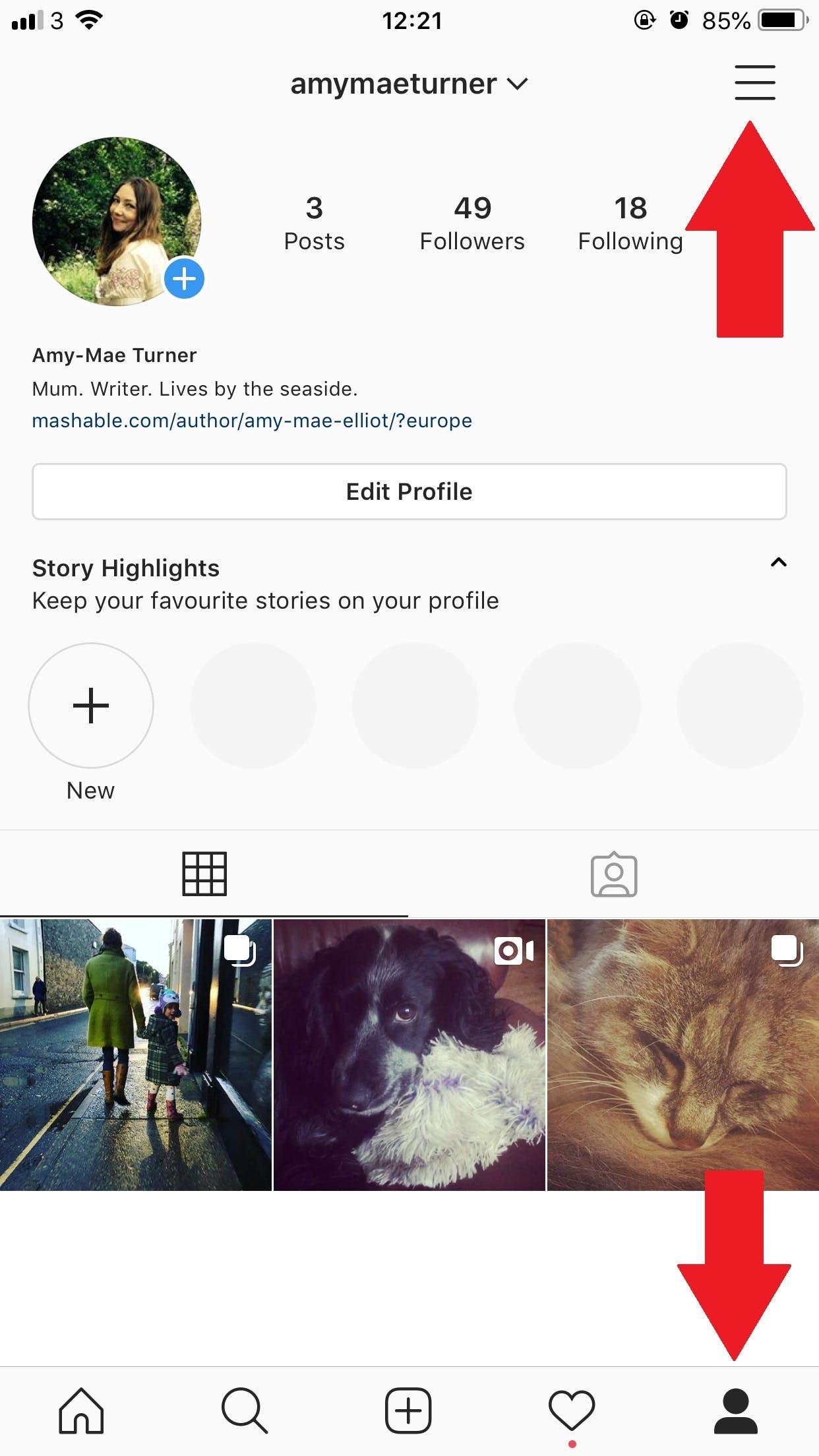 instagram mobile grab