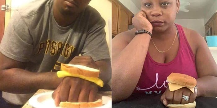 knuckle sandwich meme