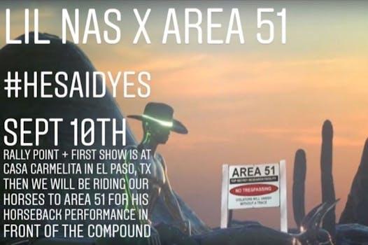 lil nas x area 51