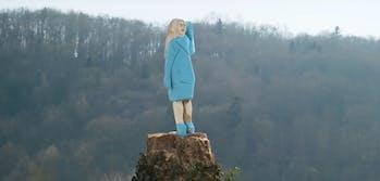 melania trump statue 2020