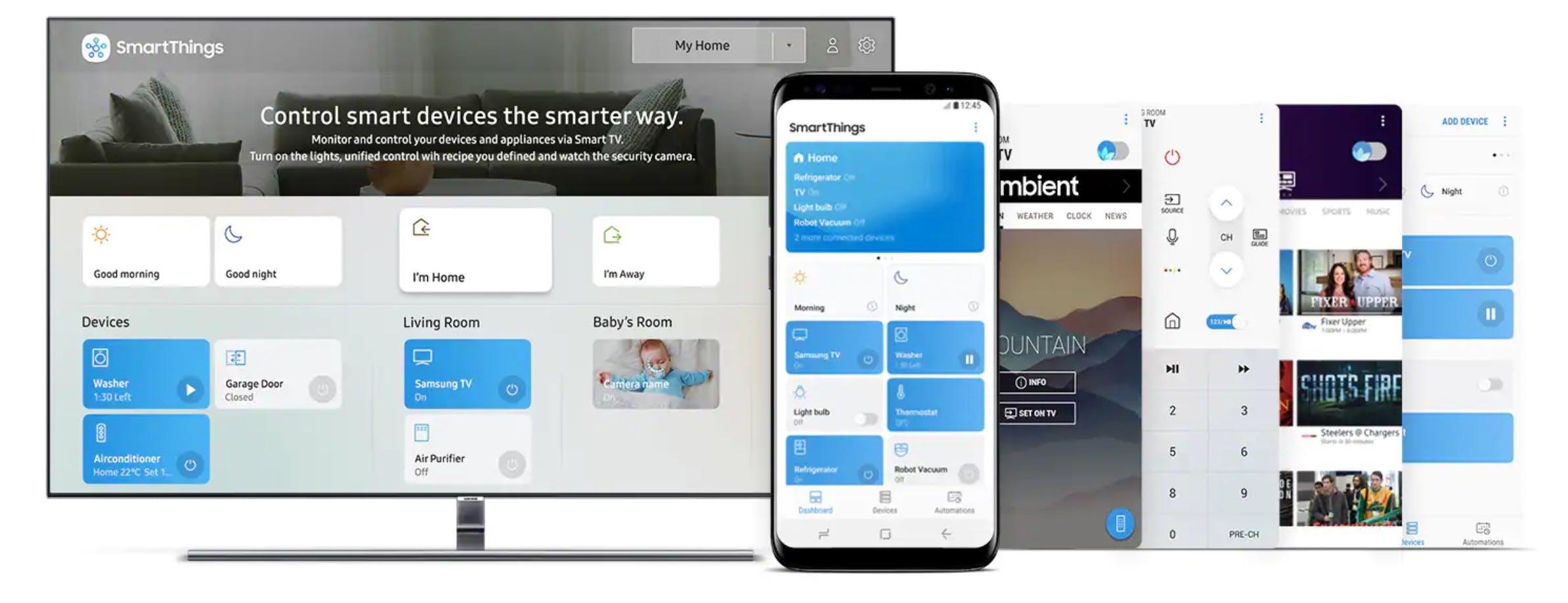 samsung qled smart things hub