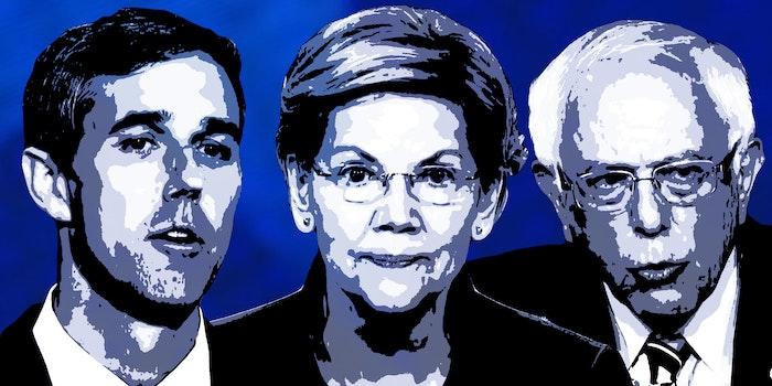 Beto O'Rourke, Elizabeth Warren, Bernie Sanders 2020 Democratic Debates