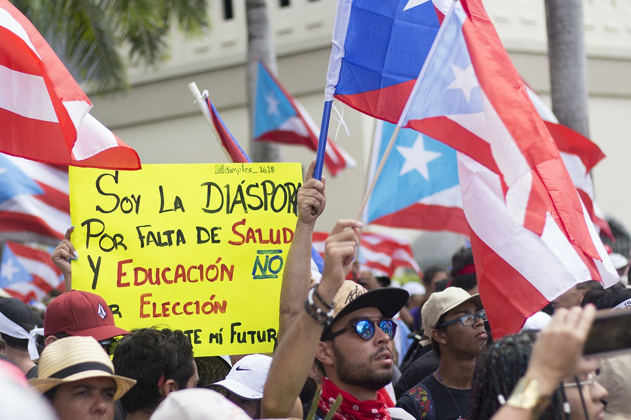 Somos Más march Puerto Rico