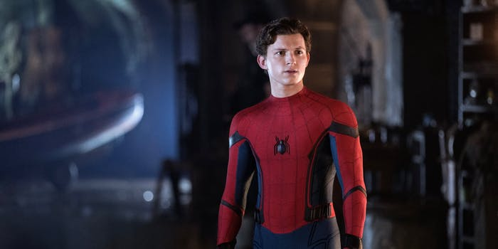 peter parker without mask
