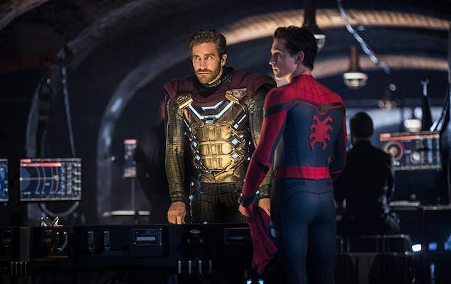 spider-man movie mysterio