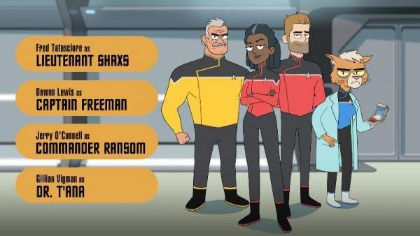 star trek lower decks cast
