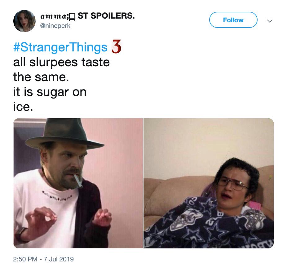 stranger things 3 memes hopper