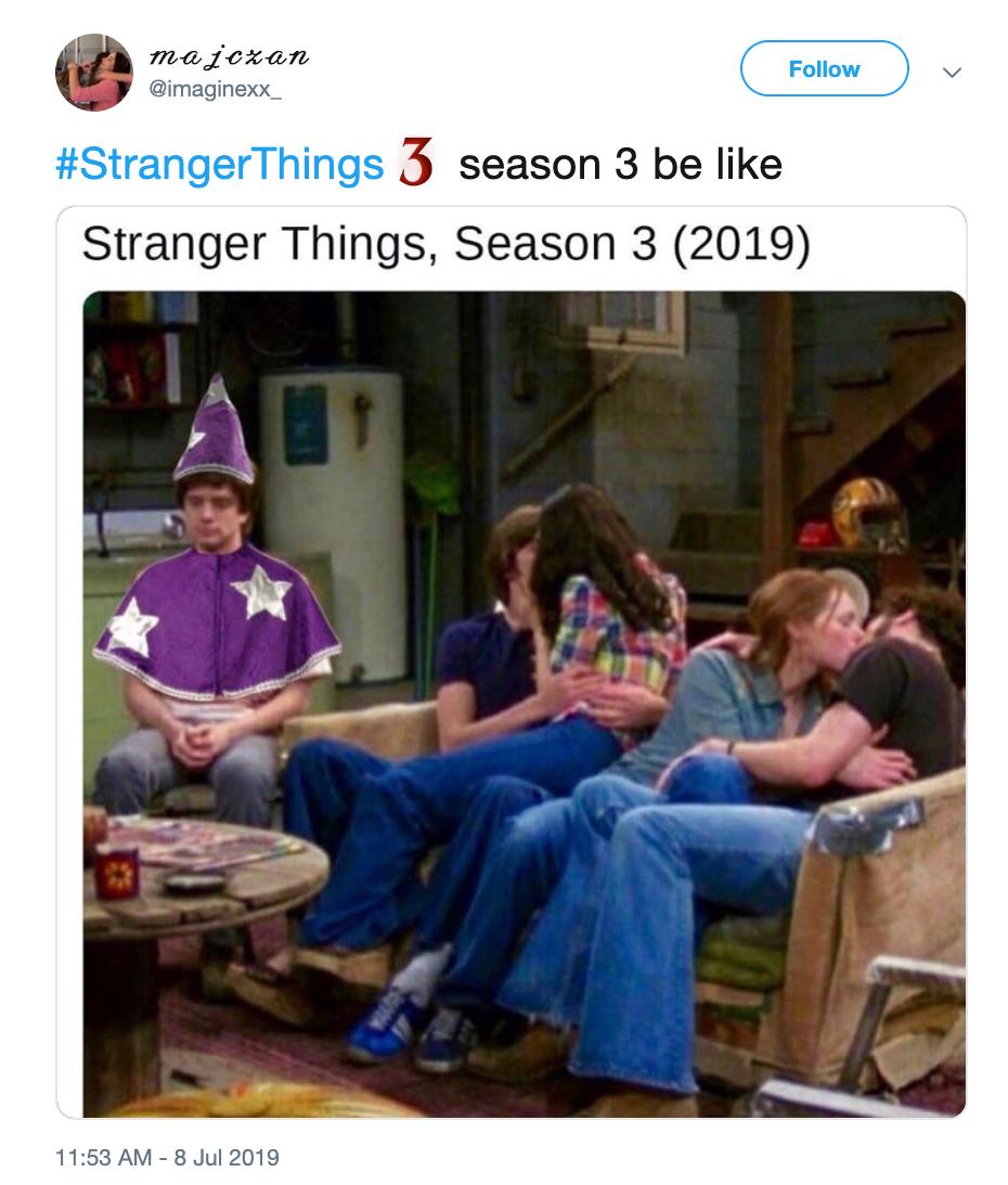 stranger things season 3 memes d&d