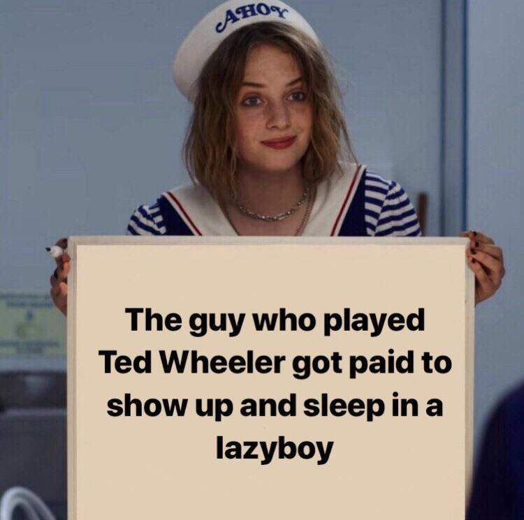 stranger things season 3 robin meme