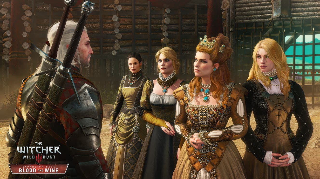 the witcher 3 wild hunt two swords