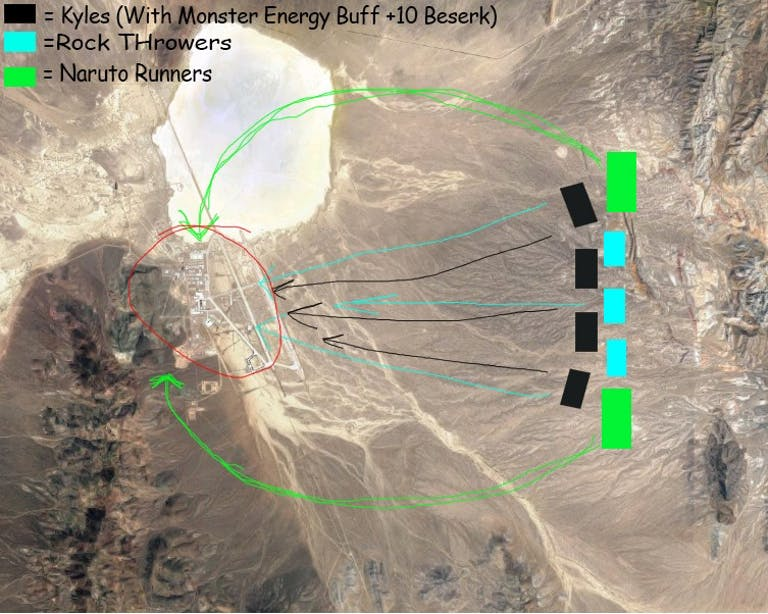 The Kyle plan Area 51