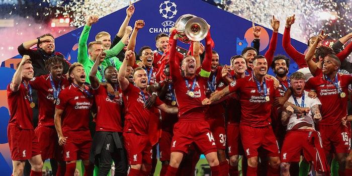 uefa champions league draw liverpool