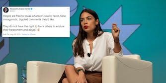 Alexandria Ocasio-Cortez Twitter Blocking