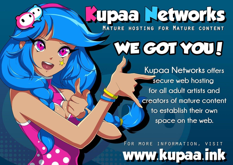 Best NSFW Web Host Adult Artists Kupaa Networks