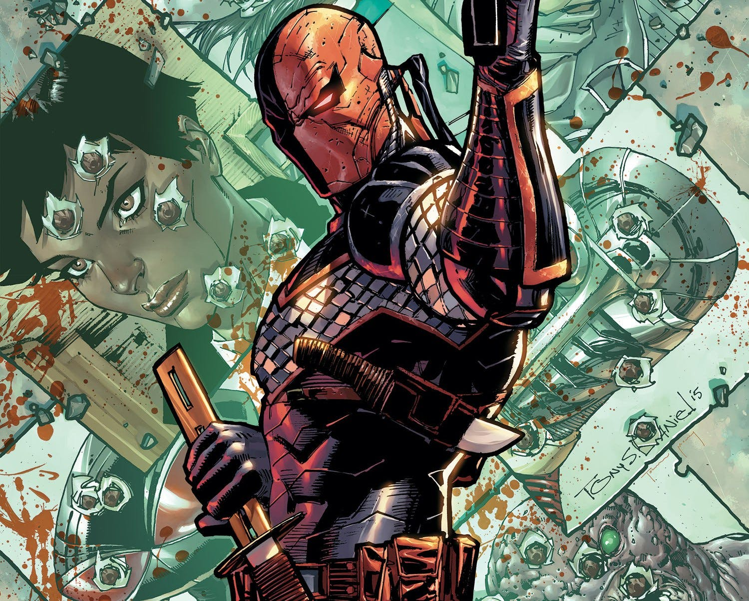 Deathstroke - cover