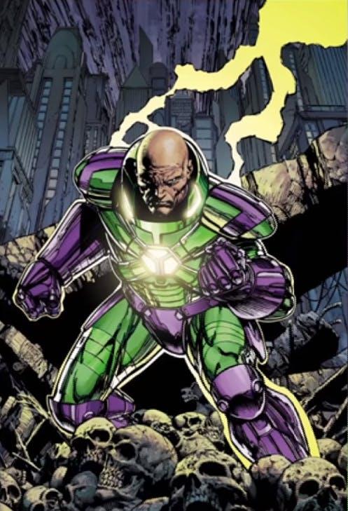 Lex Luthor - power suit