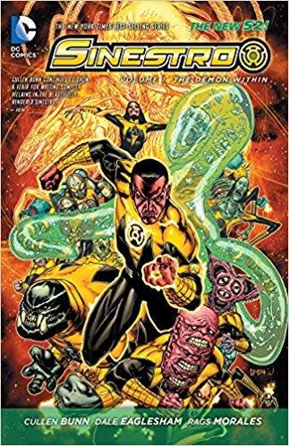 Sinestro - cover