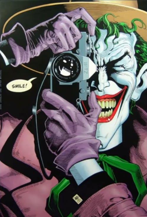 The Joker - camera
