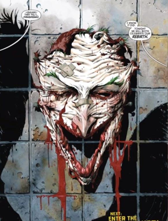 The Joker - face