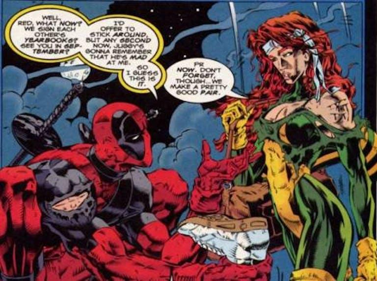 Deadpool and Siryn