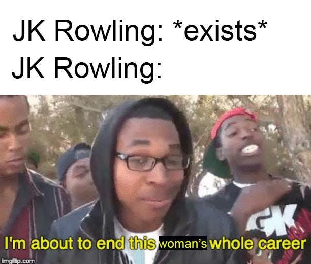 Harry Potter memes - Rowling