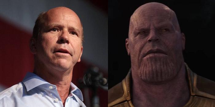 John Delaney DNC Thanos