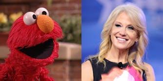 Kellyanne Conway Sesame Street Recession