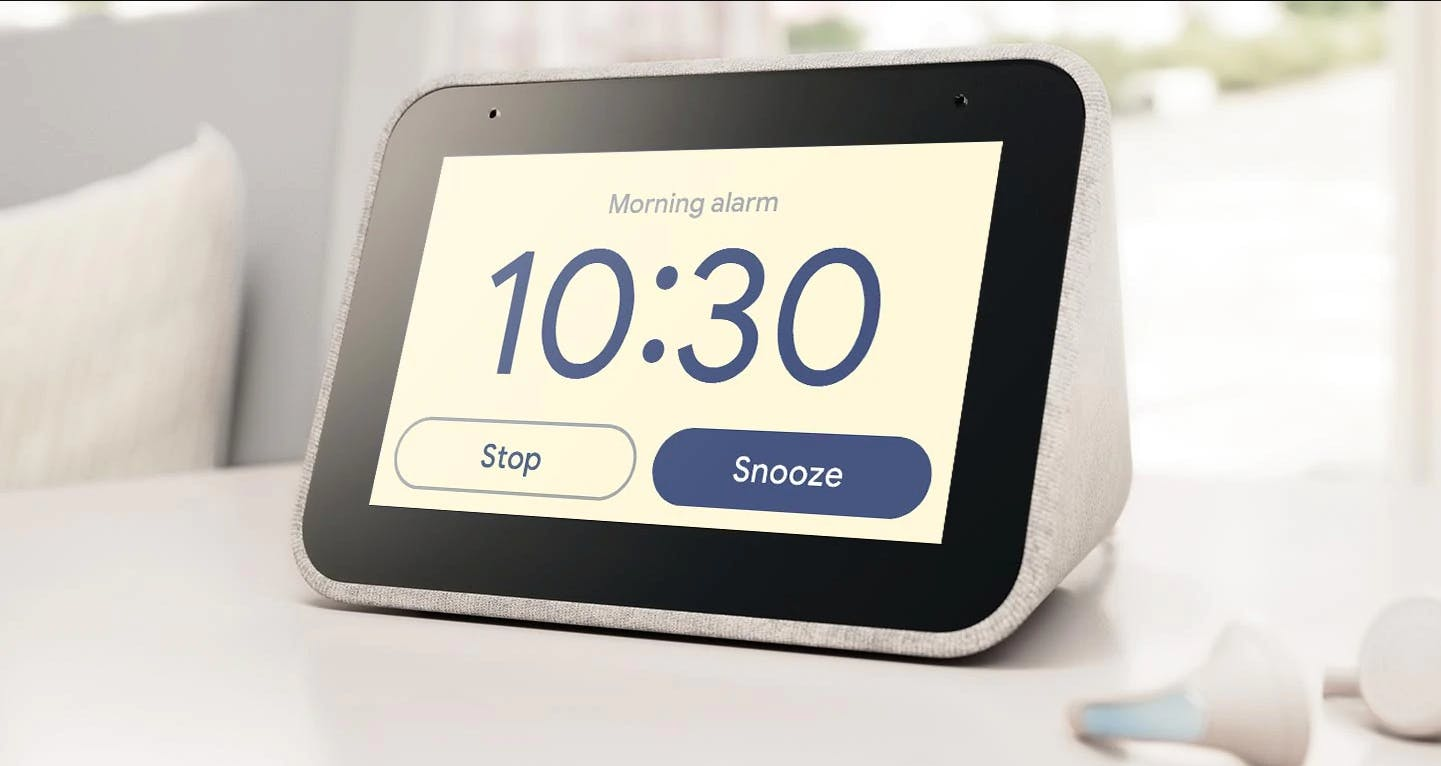 Lenovo Clock With Google Assistant