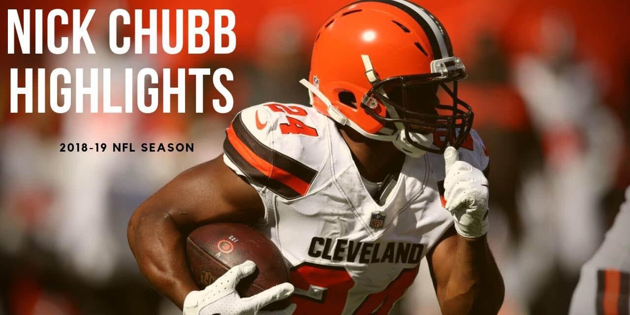 Nick chubb fantasy football mock draft