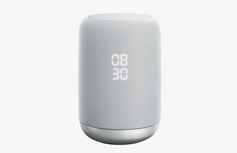 Sony LF-S50G smart speaker with smart alarm and Google Assistant