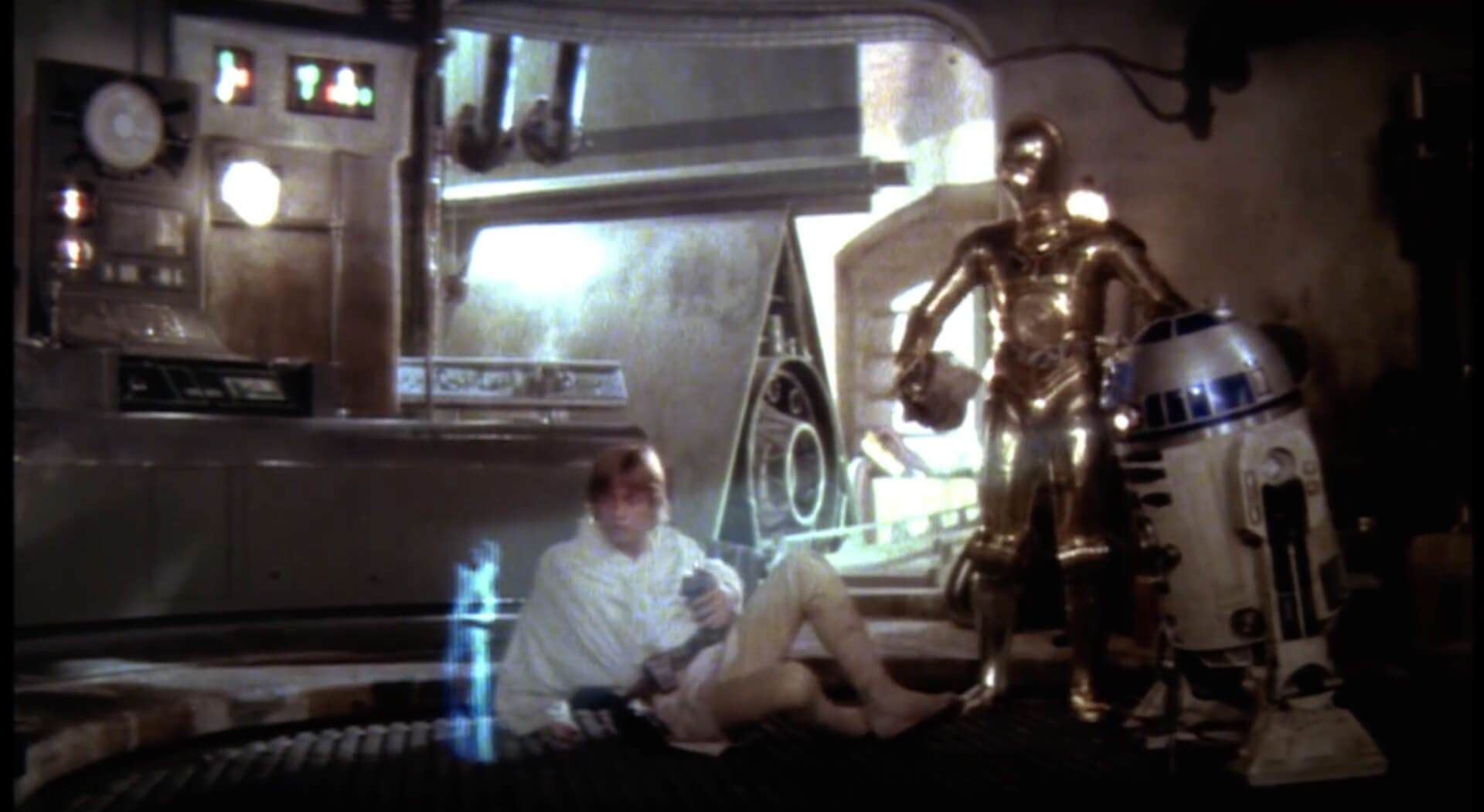 A New Hope - Luke, 3PO and R2D2