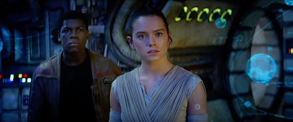 The Force Awakens - Rey and Finn