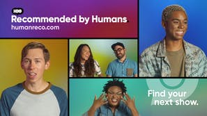 HBO recommended by humans streaming site