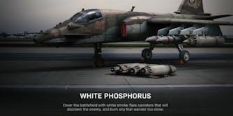 Call of Duty white phosphorus backlash